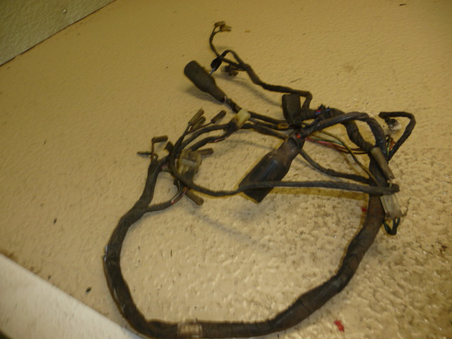 1987 kawasaki mojave 250 main wiring harness and other used 1987 kawasaki mojave 250 main wiring harness