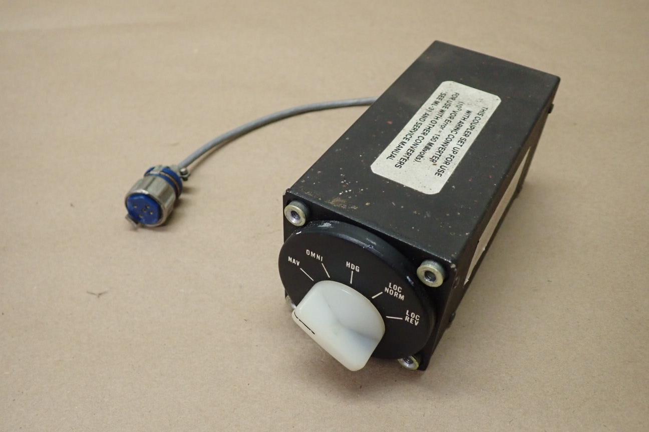 PIPER AZTEC edo-aire mitchell autopilot radio coupler 1C388